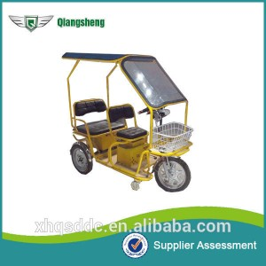 New operated model QS-F e-tricycle for old persons green trip factory supply for sale made in China