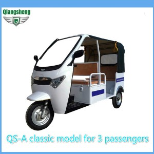 Popular classic model 1000W electric rickshaw for 3 passengers on sale