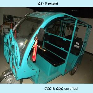 Bangladesh market E-rickshaw open body nine seater loader for sale