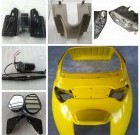 E rickshaw spare parts QS-A parts for electric rickshaw QS-A model e rickshaw spare parts
