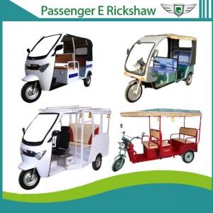 Icat certified battery operated e rickshaw for passenger