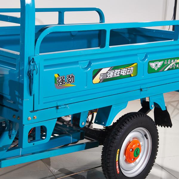 E Cart, electric cargo tricycle 1000kg loading, triciclo electrico de carga