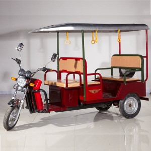 India Electric Pedicab Tricycle Taxi