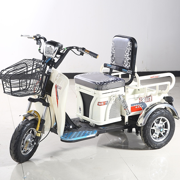 China eco-friendly 48V 500W mini tricycle scooter for adults with low price